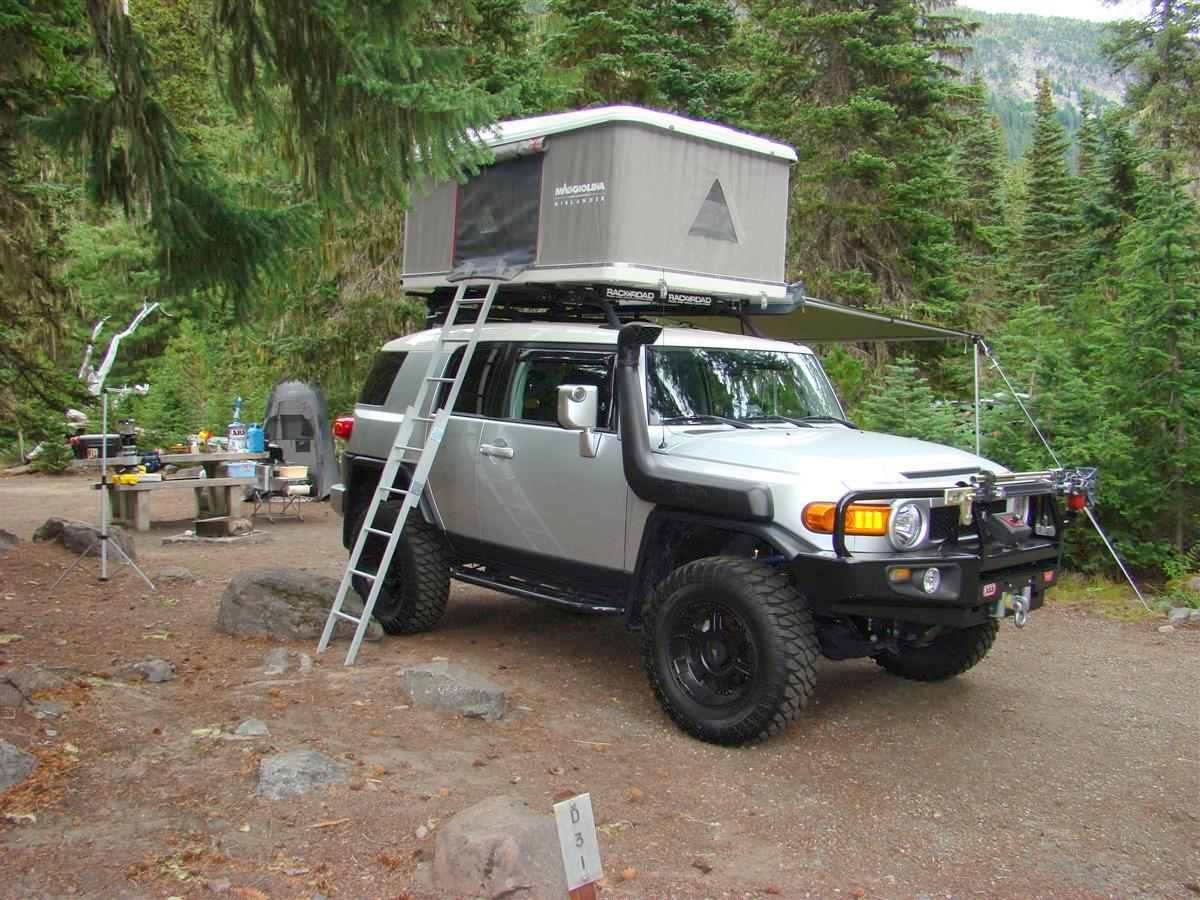 Corey S 2007 Fj Cruiser Built For Expedtion Overland