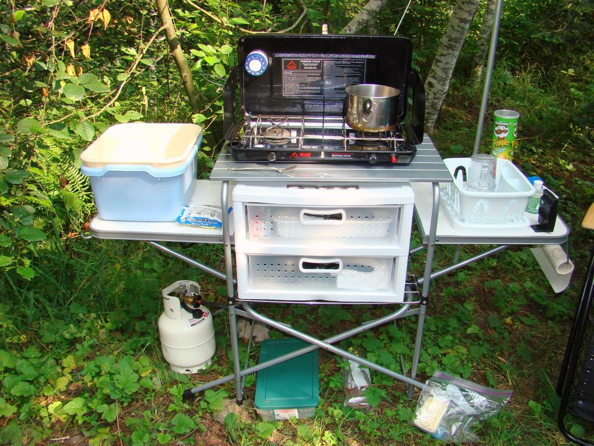 Couple of camp kitchen questions expedition portal for Kitchen setup designs