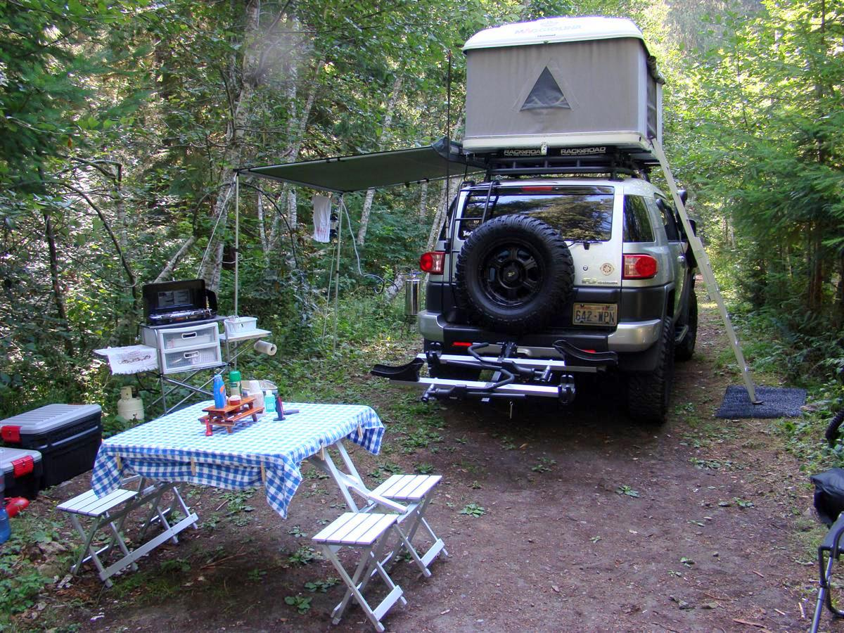 Back Country Camping Overland Summer Vacation 2009