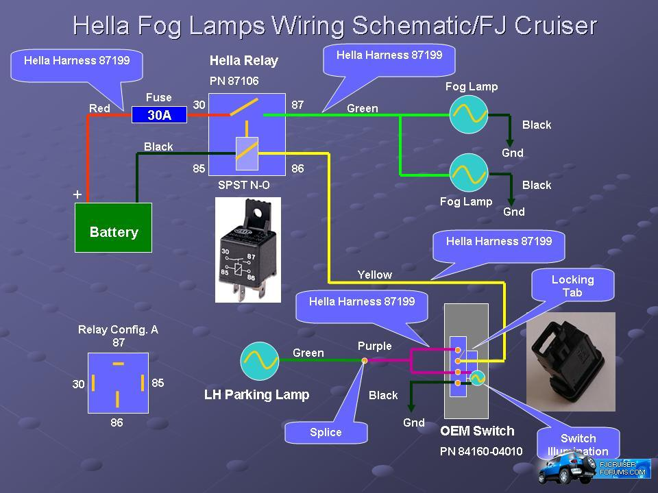 Hella_fog_light_wiring help with wiring diagram! Toyota Tacoma Trailer Wiring Diagram at bayanpartner.co