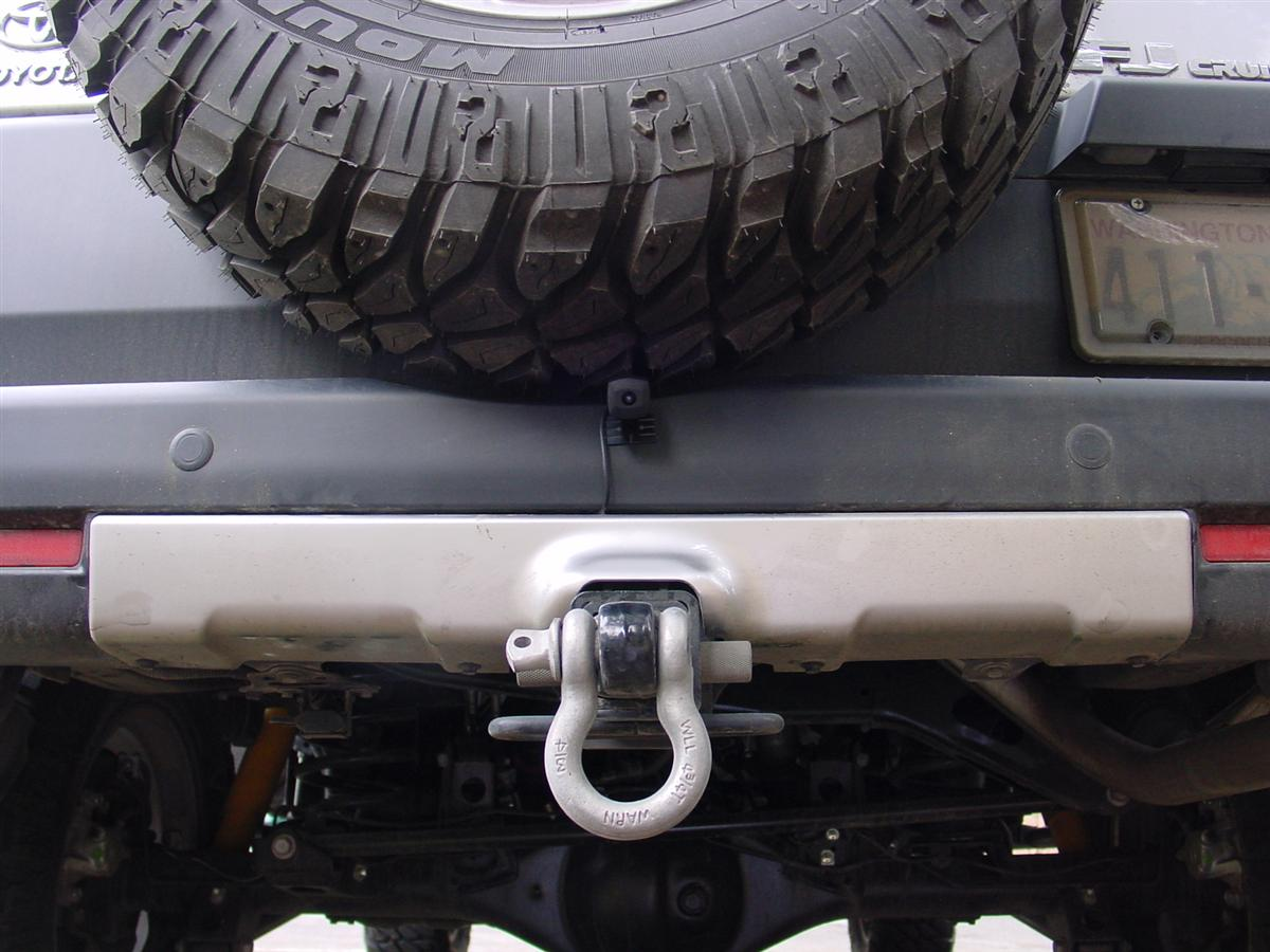Backup Camera On A Bandi Mount Toyota Fj Cruiser Forum