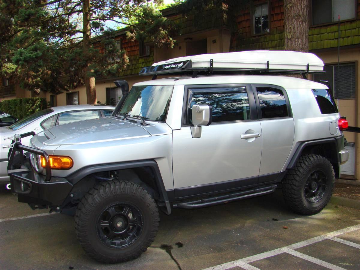 Baja Rack All Flat Utility Rack Awning Toyota Fj