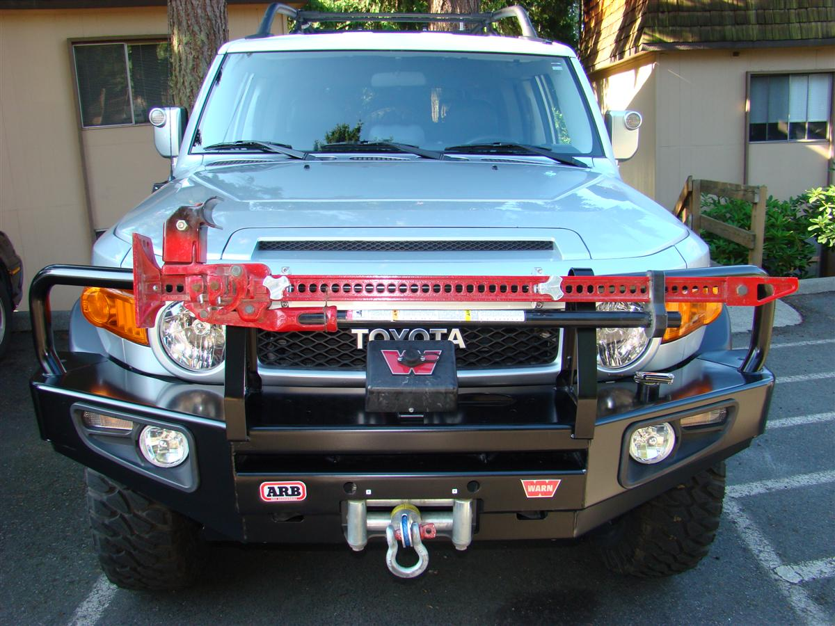 Corey s 2007 fj cruiser build up thread page 9 yotatech forums - Below Are A Few Pics Of The Install