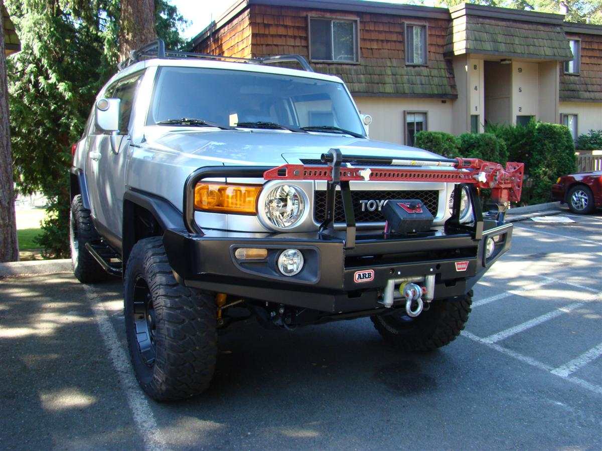 Hi Lift Mount Positions Page 2 Toyota Fj Cruiser Forum