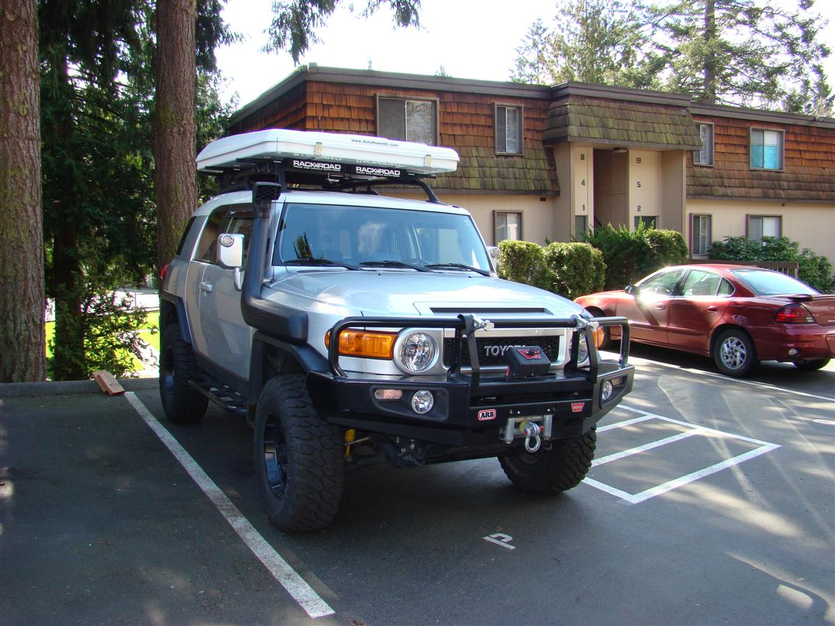 Corey s 2007 fj cruiser build up thread page 9 yotatech forums - Autohome S Main Site In Italy Lowrider Clamps 58 Crossbars Rack N Road Bellevue Wa Store Full Size Flannel Sheets