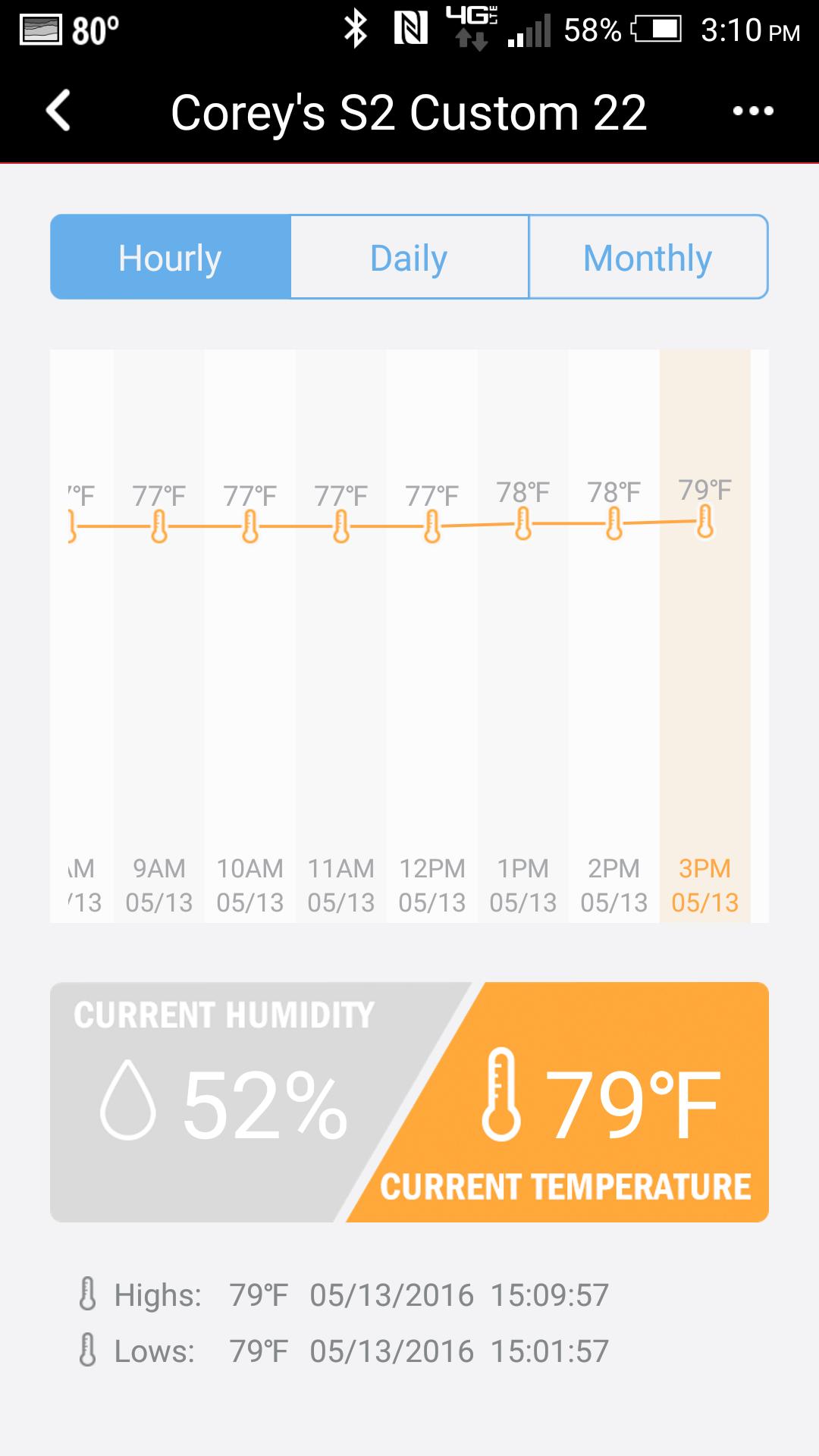 Humiditrak Bluetooth Humidity and Temperature Sensor Official PRS  #CA7101