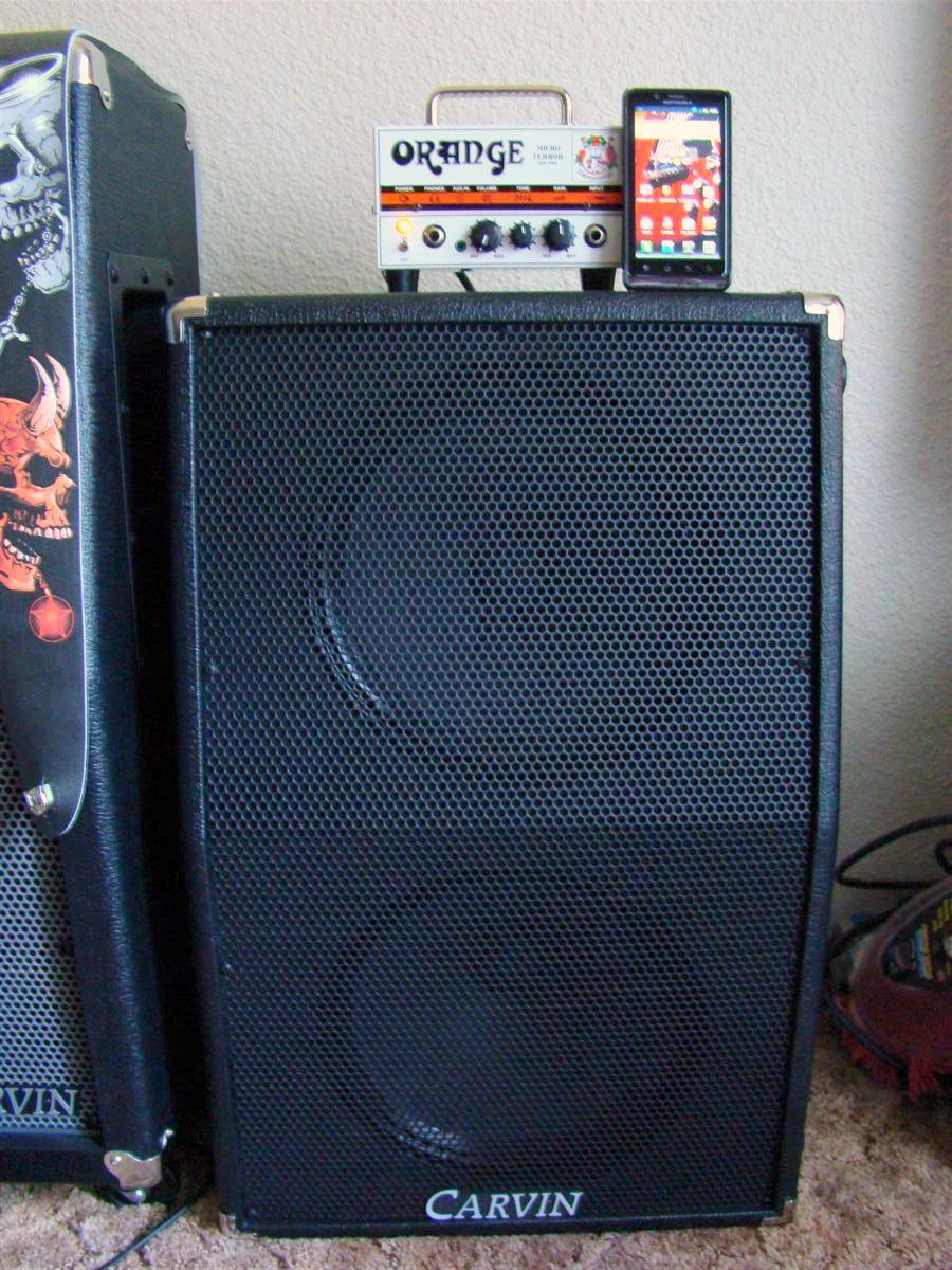 Orange Micro Terror - Gibson Guitar Board
