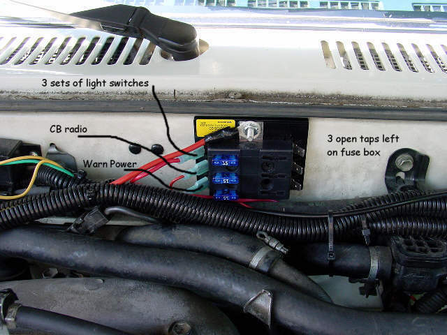 aux fuse box yotatech forums as i want total control and the key off the wire they show going to the low beams is the wire that goes to my aux box instead to get its juice