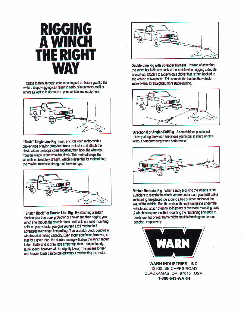 Winch Stronger With Little Or More Cable Spooled Out Yotatech Forums Wiring Schematic Diagram Guide It Comes A Warn
