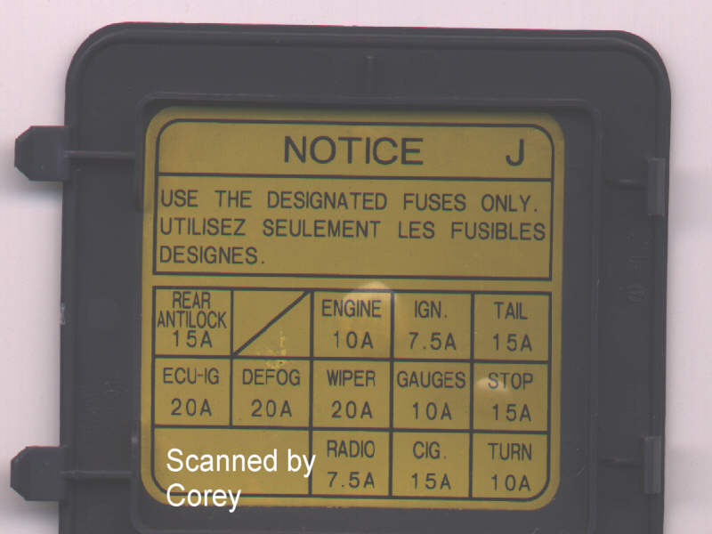 Diagram  1983 Toyota Pickup Fuse Diagram Full Version Hd Quality Fuse Diagram